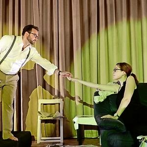"""Das Ovigo-Ensemble probt für die Premiere """"Jakes Frauen"""""""