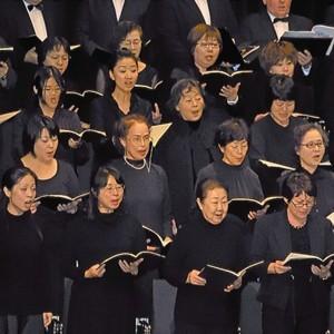 30 Choristen aus Kobe und Tokio wurden eigens für die Chorphilharmonie-Konzerte eingeflogen. Foto: Ralf Gohlke, MZ