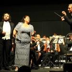 Razvan Sararu (Tenor) und Bertha Granados (Sopran) in Verdi- und Puccini-Duetten.