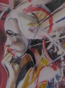 """""""Women Feelings 5"""", eine Arbeit von Neumitglied Arzy Umarova."""