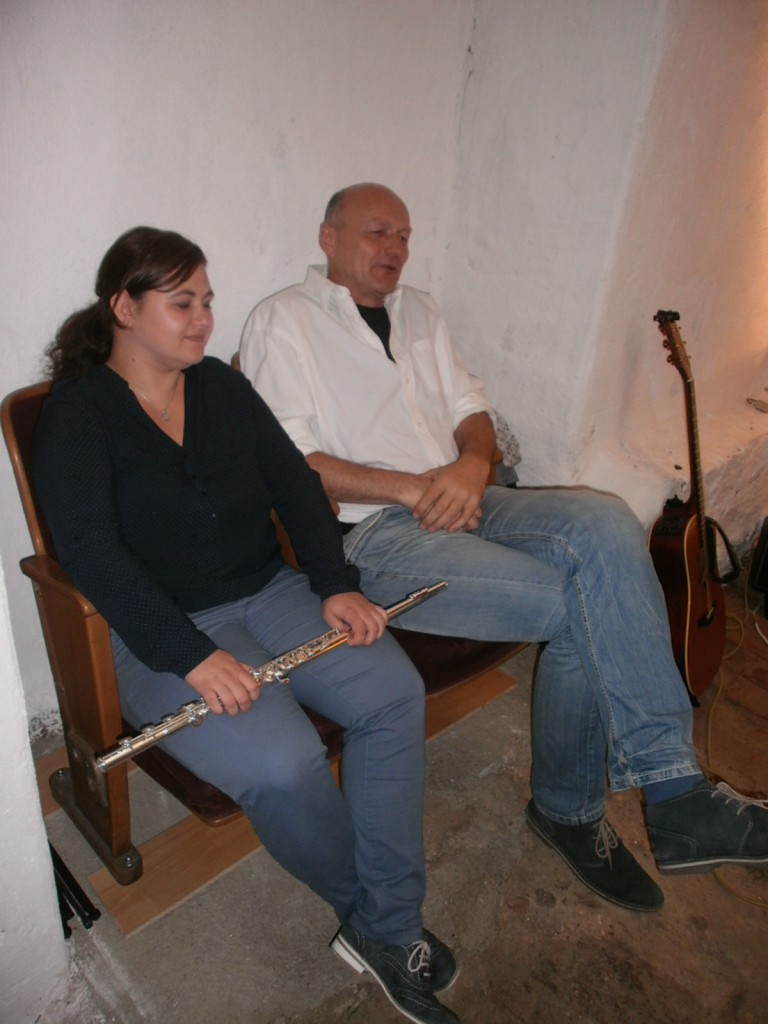 Sabrina Graßmann (Flöte) & Jürgen Zach (Gitarre)