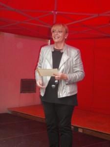 KVU-Vorsitzende Beate Seifert