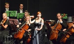 Die junge tschechische Sopranistin Hana Holodnaková gab Kostproben ihres Talents