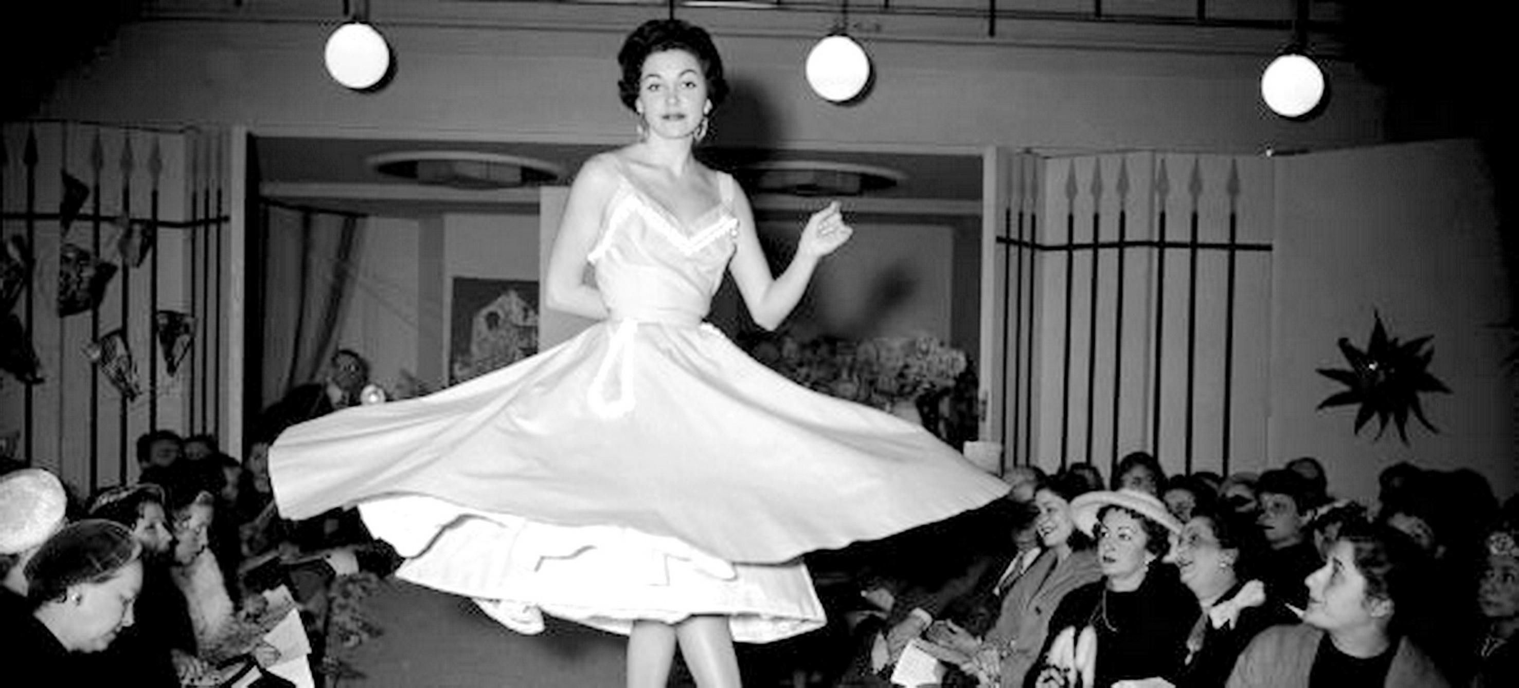 Die Petticoat-Mode - Ausdruck eines neuen Lebensgefühls in den fünfziger Jahren...