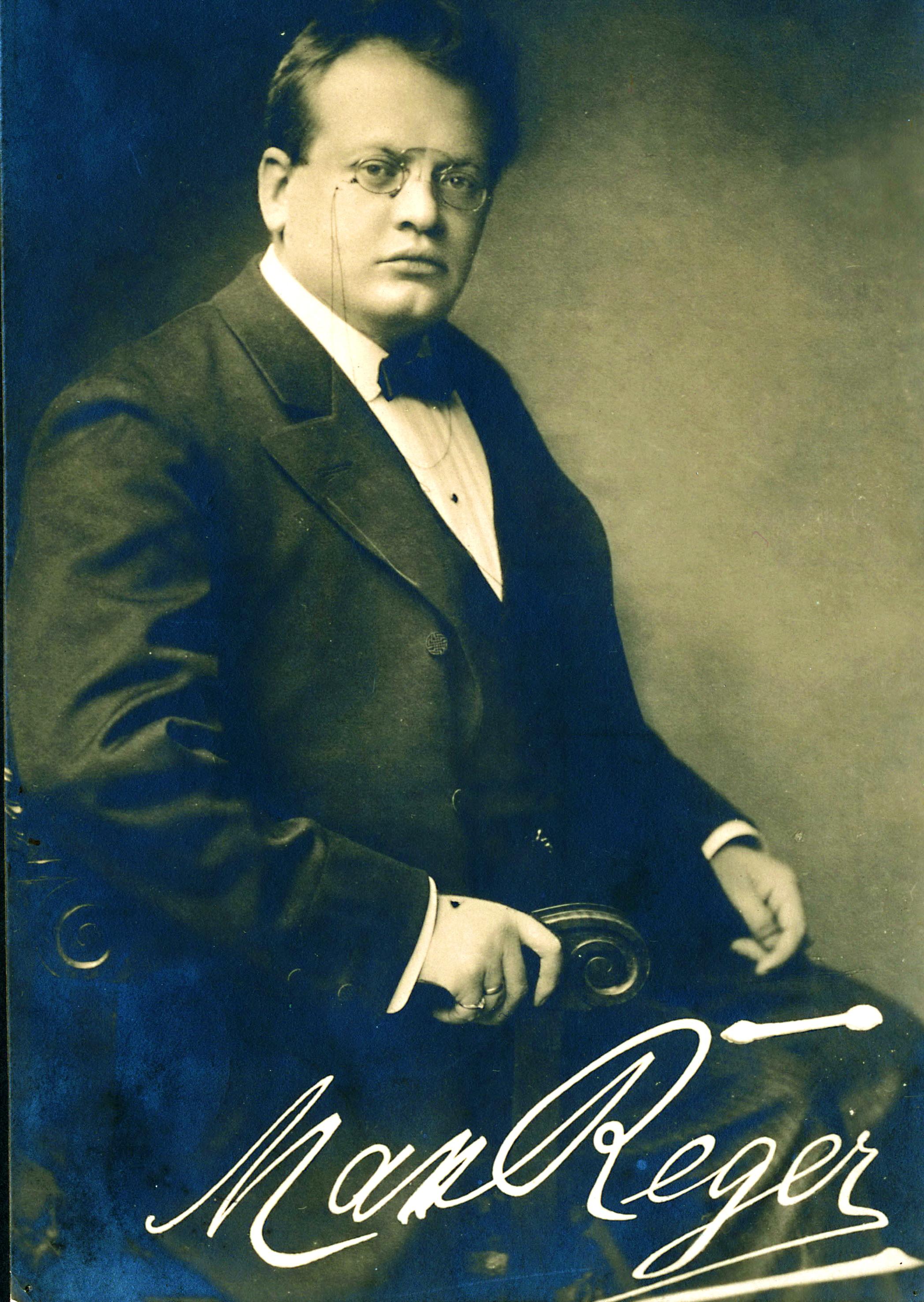 Weltberühmter Komponist aus der Oberpfalz: Max Reger im Jahr 1906. Foto: Max-Reger-Institut Karlsruhe