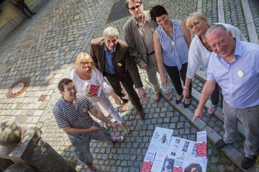 So bunt treibt's der 4. Neunburger Kunstherbst! Foto: Thomas Starringer, OK