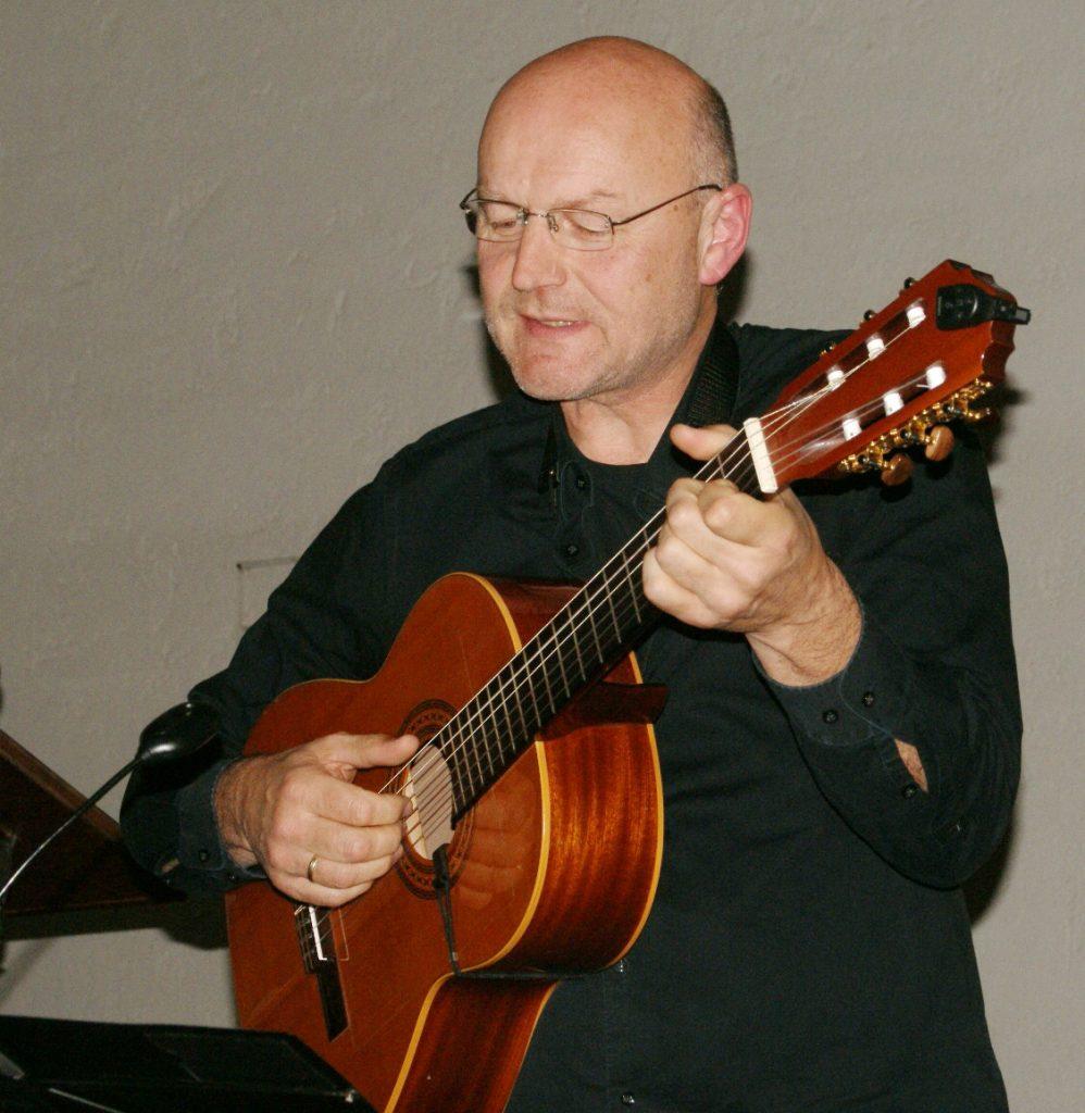 Sänger und Gitarrist Jürgen Zach