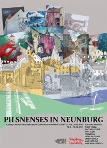 16.9.: Die Kunststadt Pilsen grüßt die Kunststadt Neunburg