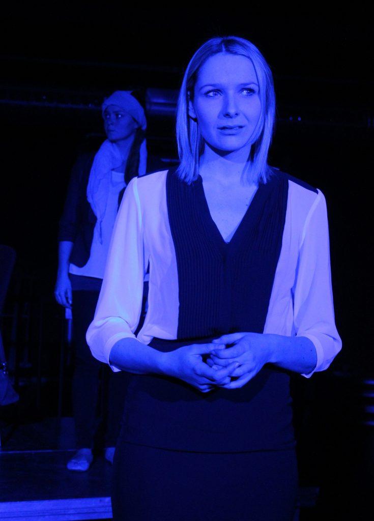Profi-Schauspielerin Julia Gruber aus Teunz.