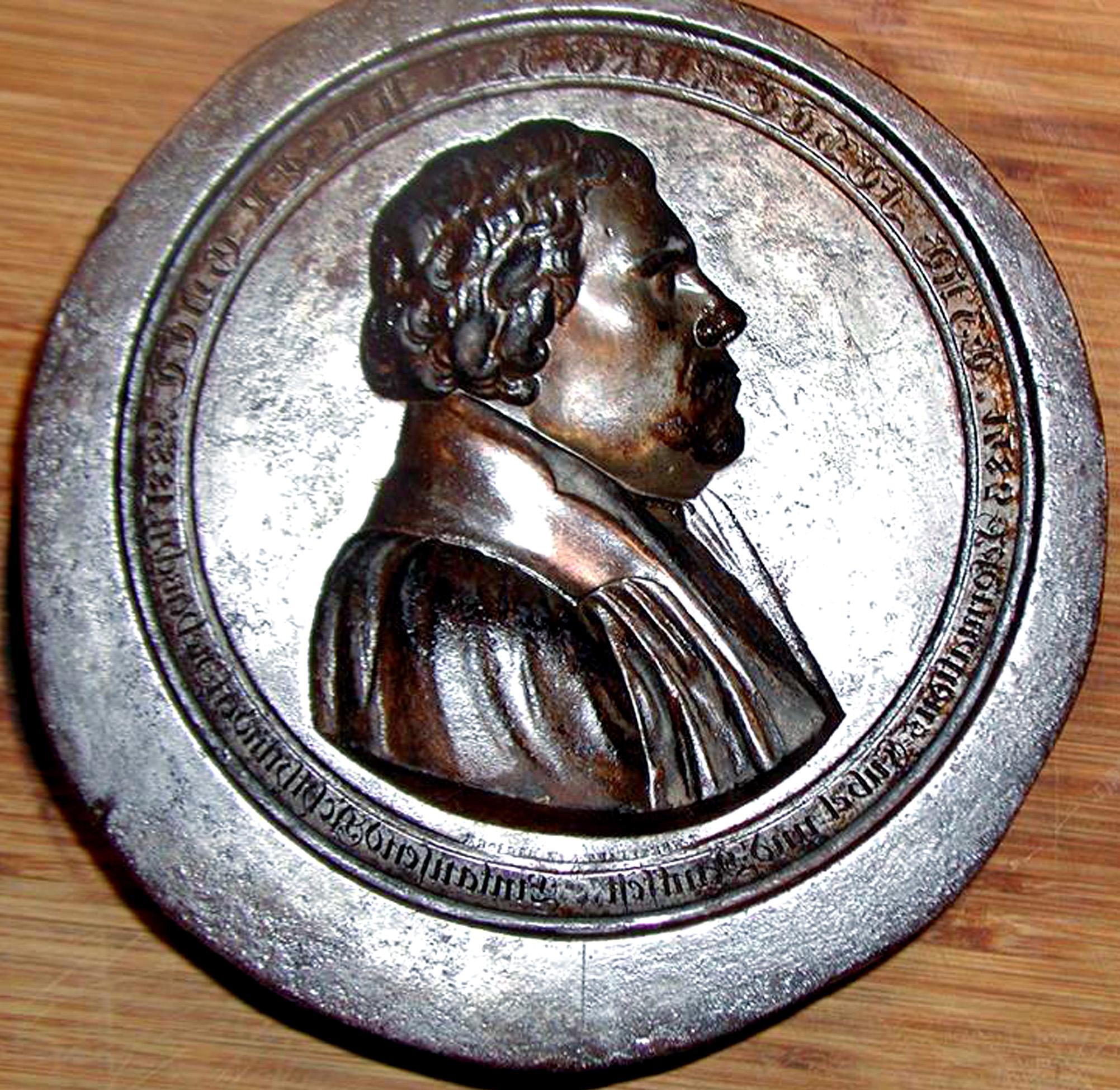 Der deutsche Reformator Marthin Luther.
