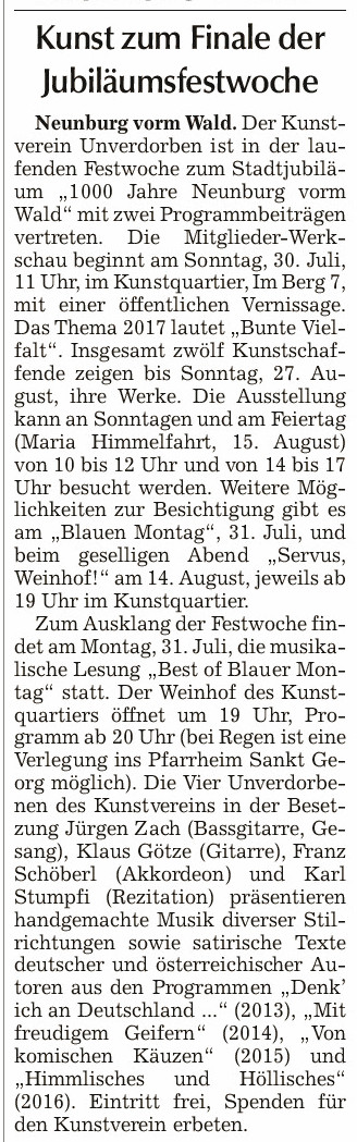 Chamer Zeitung