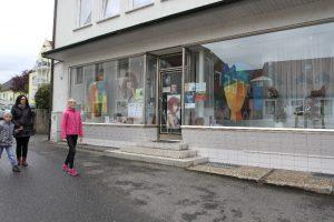 """""""Straßengalerie"""" in der Vorstadt..."""