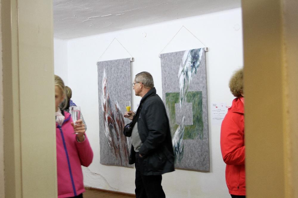 Künstler Karel Rechlik, Brünn, im Kunstquartier