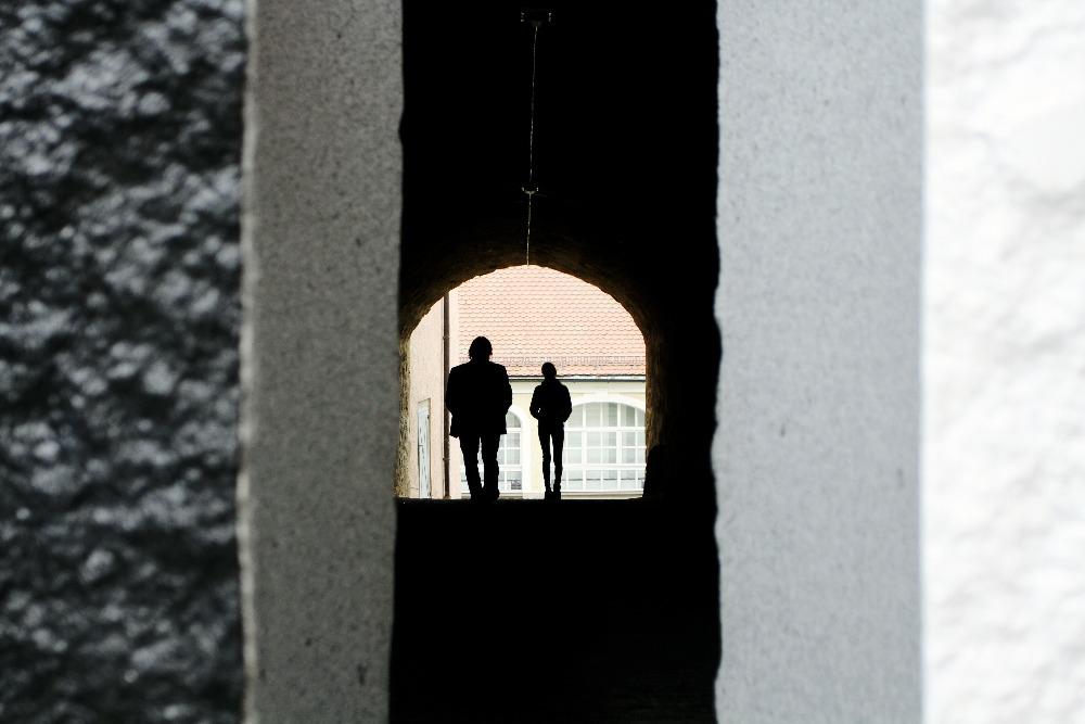 Unterer Rathaus-Torbogen/Durchgang Wassergasse