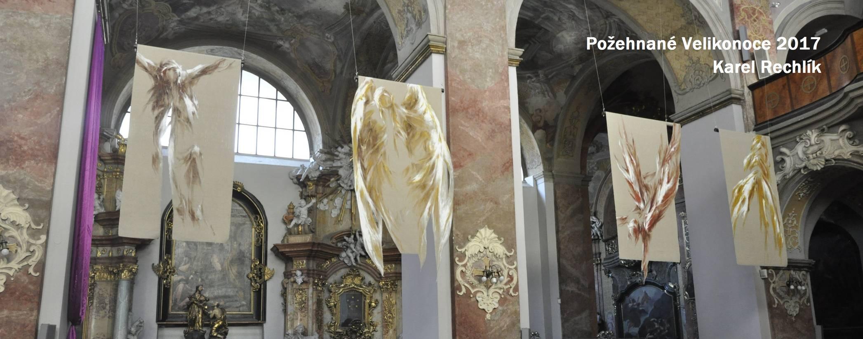 """Die """"Engel""""-Installation des Brünner Künstlers Dr. Karel Rechlik wird vom 15. September bis 22. Oktober in der Stadtpfarrkirche St. Josef zu sehen sein."""
