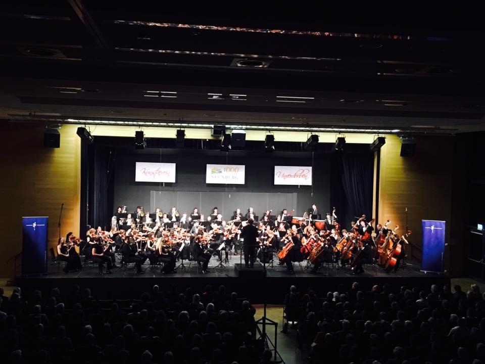 Das Jahrtausendkonzert ist als kulturelle Pioniertat in die Geschichte der 1000-jährigen Stadt Neunburg eingegangen! Foto: Bayerische Philharmonie