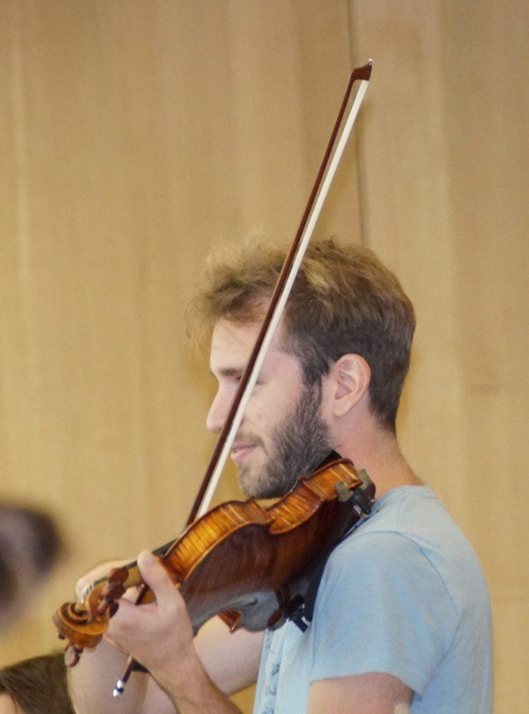 """""""Senor"""" Konzertmeister der Bayerischen Philharmonie"""