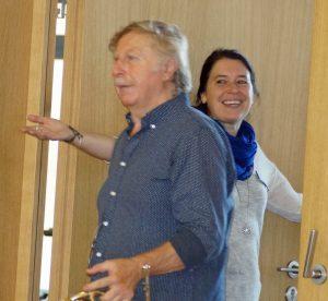Star-Hornist Prof. Wolfgang Gaag in der Schwarzachtalhalle.