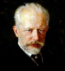 Komponist Peter Iljitsch Tschaikowsky (1840 - 1893)