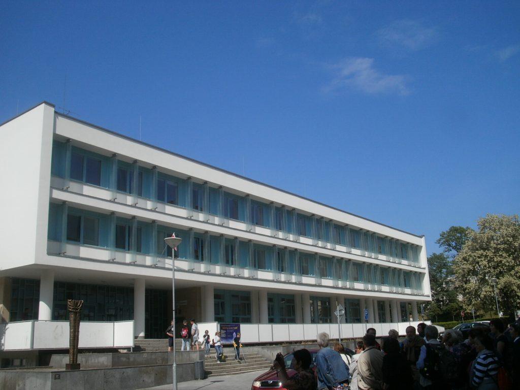 Die Kunstschule Die Kunstschule (základni umelecká skola) in Klatovy. Foto: K. Stumpfi