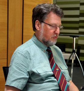 Programm-Koordinator Karl Stumpfi