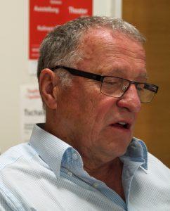 Vorsitzender Peter Wunder