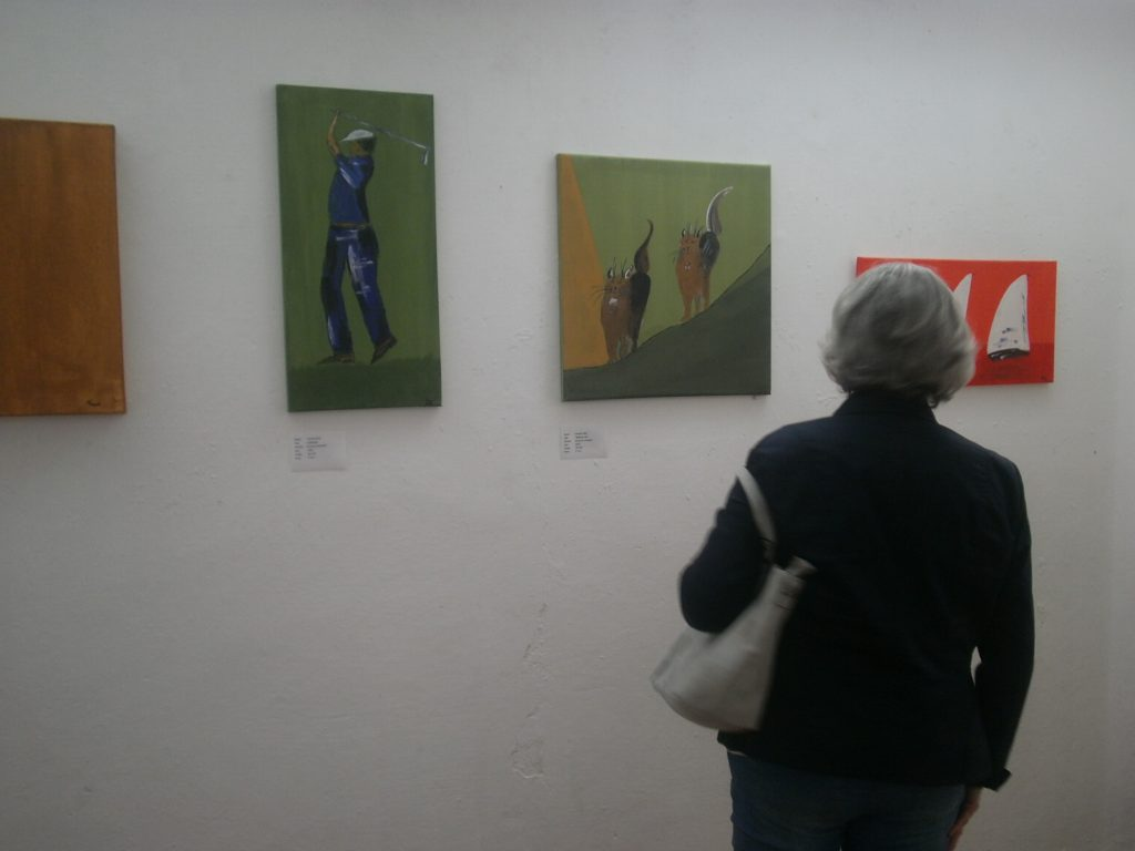 Werke in Acryl auf Leinwand des Künstlers Thomas Zilch