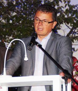 Bürgermeister Birner lobte in seinem Grußwort Kreativität und Innovationskraft des Kunstvereins Unverdorben.