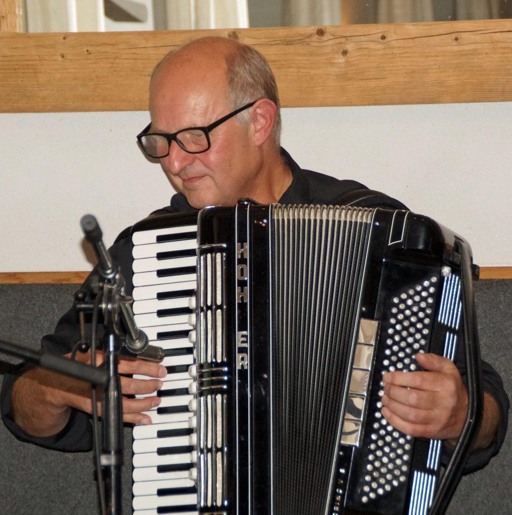 Franz Schöberl, ein Virtuose am Akkordeon!