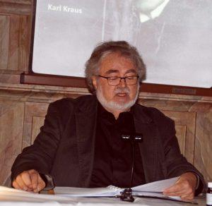 Wolfgang Huber liest Texte von Karl Kraus und Erich Maria Remarque
