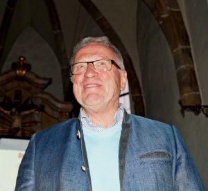 1. Vorsitzender Peter Wunder begrüßte die Zuhörerschaft.
