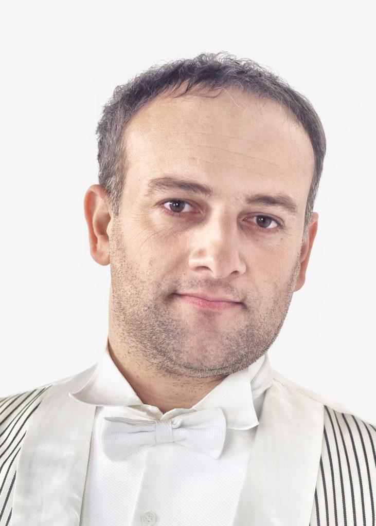 Tenor Khvicha Khozrevanidse aus Georgien.