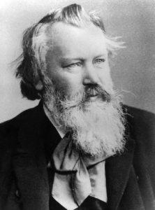 Komponist Johannes Brahms