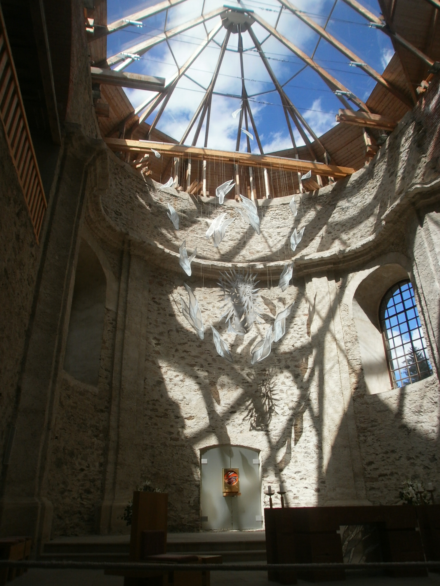 Wallfahrtskirche Maria Himmelfahrt in Neratov (Bärnwald). Foto: Karl Stumpfi, KVU