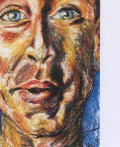 Susanne Heinrich: EMOTIONEN Pastell/Papier, je 60 x42 cm