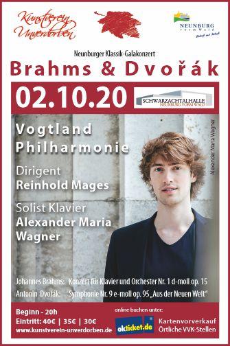 Konzertvorschau im Oberpfälzer Kulturmagazin EXPULS, Ausgabe April/Mai 2020.