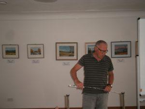 Seit Anfang September laufen die Vorbereitungen für die Ausstellungseröffnung. Foto: Karl Stumpfi