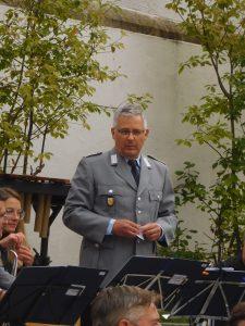 Anton Lottner führte gemeinsam mit Christian Ziegler durchs Programm.